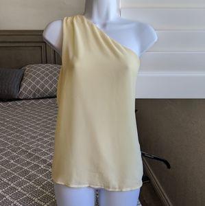 Eva Mendes for NY&C - flowy one shoulder top